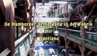 Die Schietgäng in der Fabrik mit Santiano